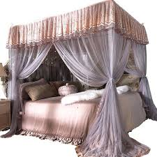 canopy bed curtains queen – collegesainteanne.net