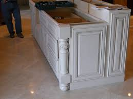 Kitchen Island With Raised Bar Working Side Of The Island Bar