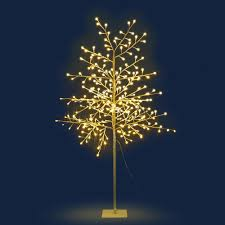 Blossom Christmas Tree With Led Lights 1 5m 305 Led Blossom Christmas Tree Warm White