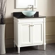 30 chapman vessel sink vanity white