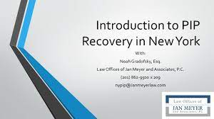 Insurance law § 5104 (a) is not given extraterritorial effect even in situations where all parties are new york residents and the accident merely occurred in another state. Guide To Recovery Of Pip In New York With Other Selected Subrogation Laws