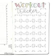 Food And Exercise Trackers 7 Simple Ways To Lose Weight Using Your Bullet Journal