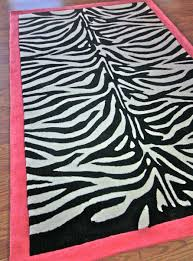 pink and zebra rug rug designs add home luxury with zebra print rug selections