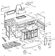 atlanta stove works model 26gcab space heaters wall unit genuine parts
