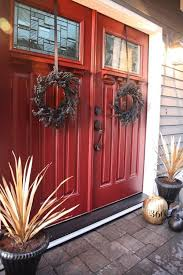 double front doors. Doors, Double Front Doors Fiberglass Entry With Glass Big Red