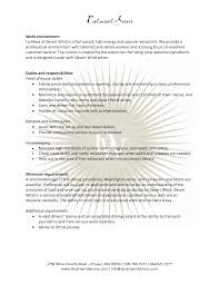 Fine Dining Server Resume Restaurant Server Resume Badak Shalomhouseus 12