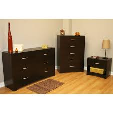 dresser and chest set. Perfect Set South Shore SoHo 3Piece Dresser And Nightstand Set Chocolate In And Chest Set A