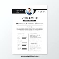 Resume With Picture Technical Resume Format In Doc Resume Picture ...
