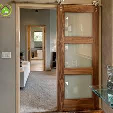 interior gl sliding barn doors