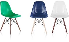 fiberglass shell chairs. eames® molded fiberglass side chair with dowel base shell chairs c