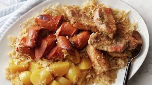 slow cooker pork sauer and