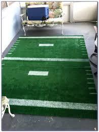 football field rug carpet