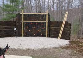 personal outdoor shooting range