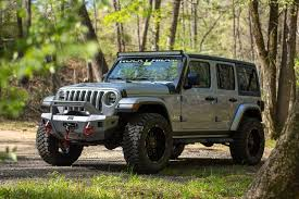 go anywhere in our lifted jeeps