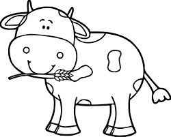 Small Picture Cute Cow Coloring Page Wecoloringpage