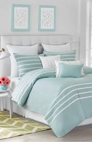 Jill Rosenwald Capri Stripe Duvet Cover  Beach Theme BedroomsTurquoise  Bedroom WallsTurquoise Bedroom DecorTurquoise ...