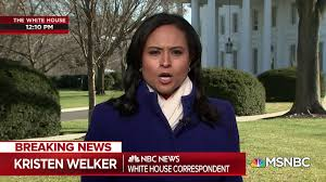 Kristen Welker at the White House: 'We are seeing a cascade of resignations  here'