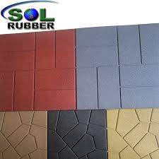 recycled rubber flooring outdoor.  Rubber Residential Outdoor Patio Recycled Rubber Flooring Pavers And E