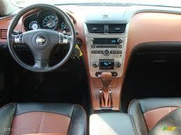 Ebony/Brick Red Interior 2008 Chevrolet Malibu LTZ Sedan Photo ...