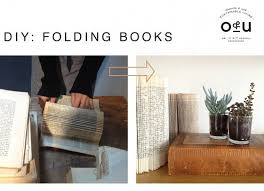 Make It: Folded Book Decor