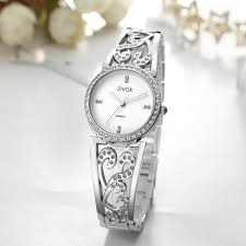 <b>ZIVOK Women Luxury</b> Shiny Rhinestone Decoration Dial Quartz ...