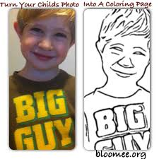 Turn A Picture Into A Coloring Page Make Photo Into Coloring Page ...