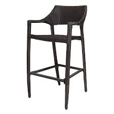 source outdoor tuscanna wicker bar chair