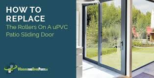 how to replace the rollers on a upvc patio sliding door schlegel patio rollers