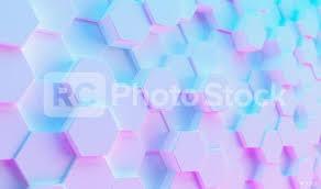 futuristic sci fi modern hexagonal