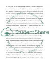 lolita vs frankenstein essay example topics and well written  frankenstein essay example text preview
