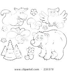 Coloring Pages Forest Animals Forest Animals Coloring Pages Forest Animals Coloring Pages Animal