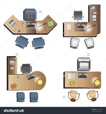 office table top view. Brilliant Furniture Top View Plan About Unique Styles Office Table