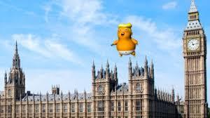 Bildergebnis für trump balloon london