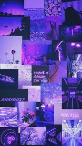 Purple Aesthetic Collage Wallpapers ...