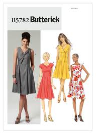 Patterns For Dresses Interesting B48 Misses' Dress Sewing Pattern Butterick Patterns