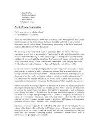 moral education essay moral education