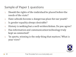 introduction to general paper ppt  sample of paper 1 questions