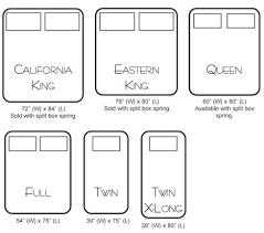 mattress sizes. Innovative King Size Mattress Best Mattresses Sizes Photos Bed Us