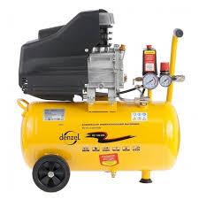 <b>Компрессор масляный Denzel</b> OC 1/24-206, 24 л, 1.5 кВт ...