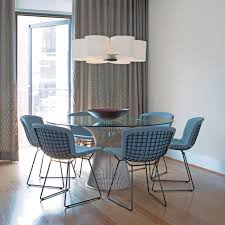 platner furniture. Knoll - Bertoia Side Chairs With Platner Dining Table Furniture