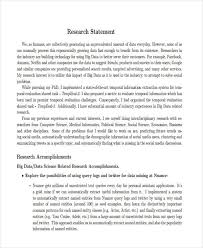 research statement examples business research statement example