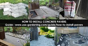 diy interlocking pavers how to