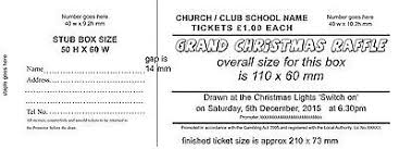 Prize Draw Tickets 1500 Prize Draw Tickets Raffle Tickets In Books Of 5 300 Books