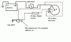 delco alternator wiring diagram tractor wiring diagram alternator hook up on wd allischalmers forum