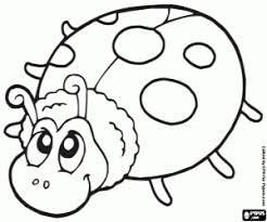 Kleurplaat Lieveheersbeestje Kleurplaten