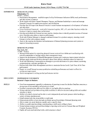 Demand Planner Resume Samples Velvet Jobs