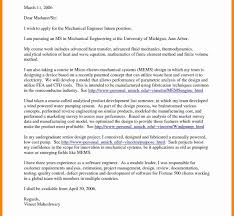 Mechanical Engineering Cover Letter Cool Sample For Engineer On Of