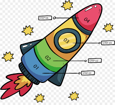 Flow Chart Cartoon Rocket Infographic Clip Art Cartoon Rocket Flow Chart