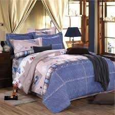 navy blue red pink and khaki brown patchwork plaid union jack great britain flag print vintage full queen size bedding sets