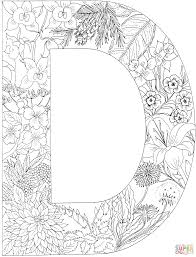 Small Picture free printable letter d coloring pages wwwmindsandvinescom